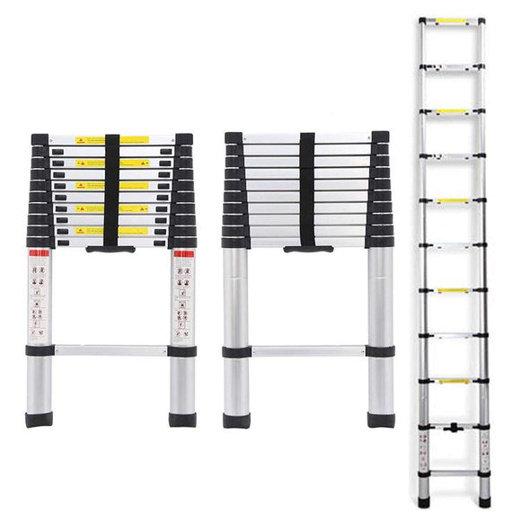 3.2m Aluminium Telescopic Extendable Ladder