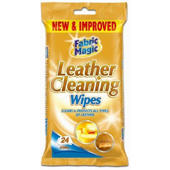 1 x Fabric Magic Leather 24 Wipes