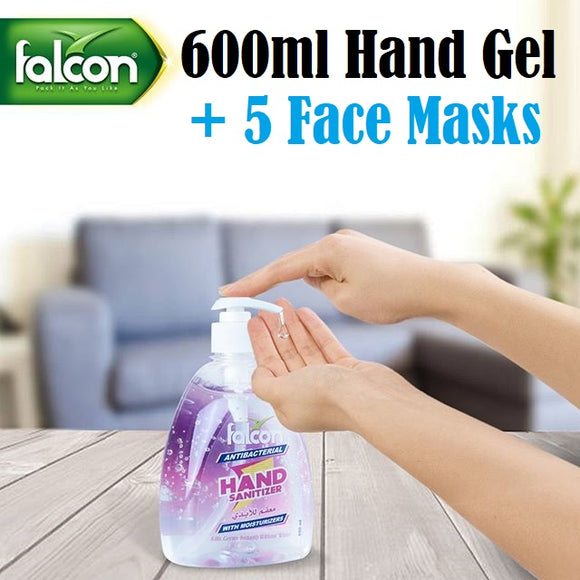 Falcon Hand Sanitiser (600ml)