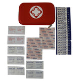 First Aid Kit with Red Pouch - 50 Piece
