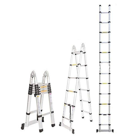 5.0m Aluminium Telescopic Folding Ladder