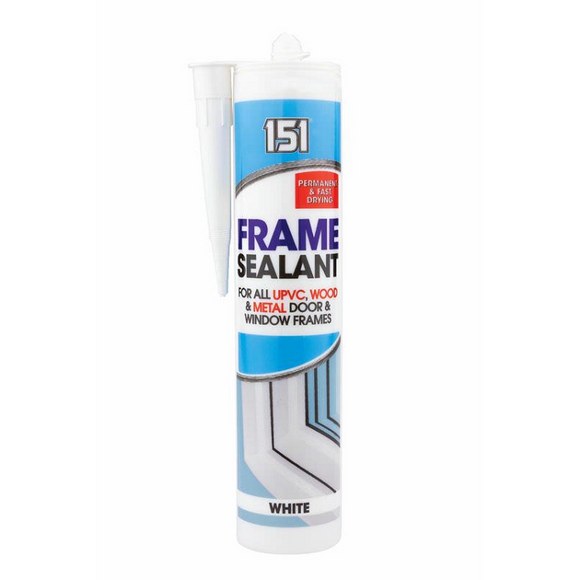 151  Frame Sealants 280ml - White