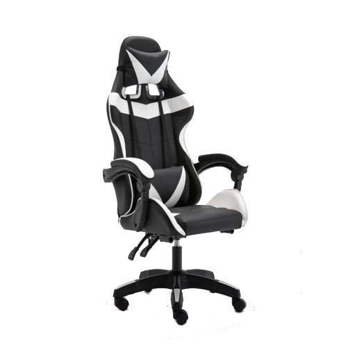 Adjustable Gaming Chair - White