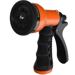 Garden Hose Spray Gun Head (Orange)