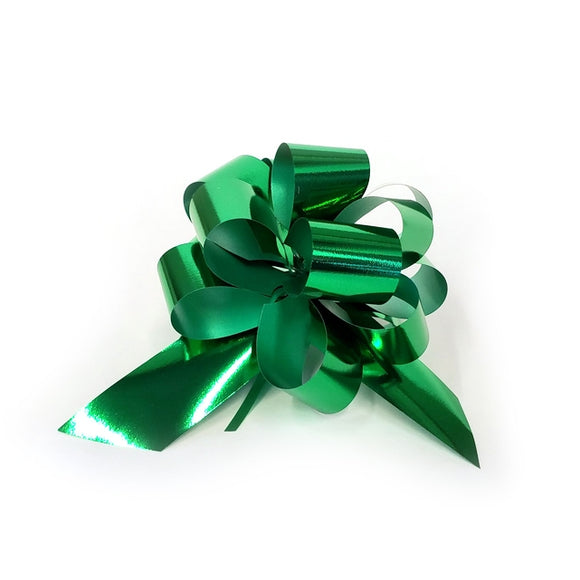 10 Piece Gloss Gift and Floristry Bow (Green)