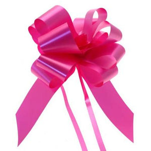 10 Piece Gloss Gift and Floristry Bow (Pink)