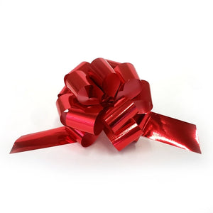 10 Piece Gloss Gift and Floristry Bow (Red)