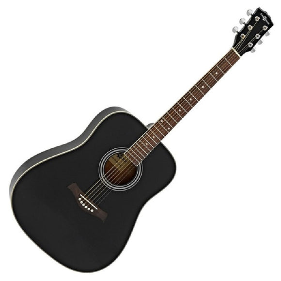 95cm Wooden Acoustic Guitar with 6 Strings (Black)