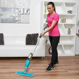 Hand Held Spray Mop (Blue)