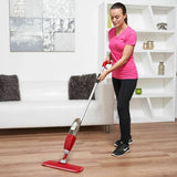 Hand Held Spray Mop (Red)