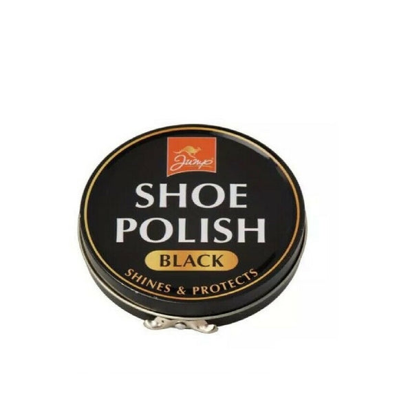 Jump Shoes Polish Black