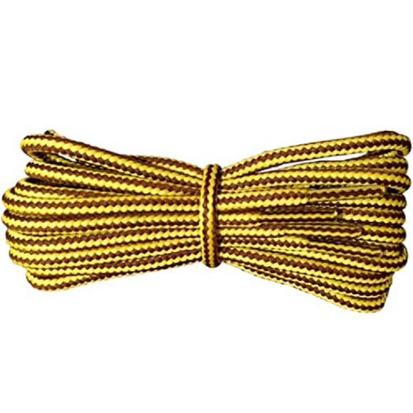 1x JUMP Brown/ Yellow 90CM Laces