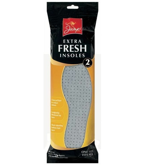 JUMP Xtra Fresh Shoe Insoles 2pk