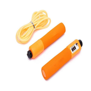 Jump Skipping Rope with Counter (Orange)