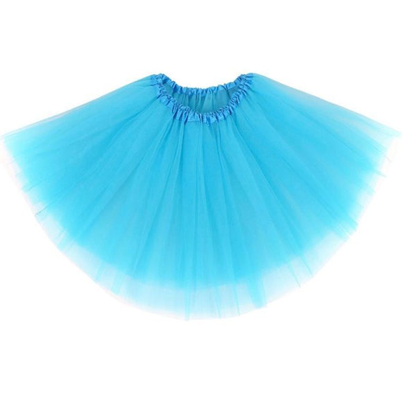 Kids Tutu Skirt (Light Blue)