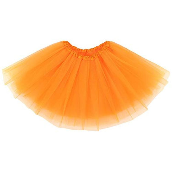 Kids Tutu Skirt (Orange)