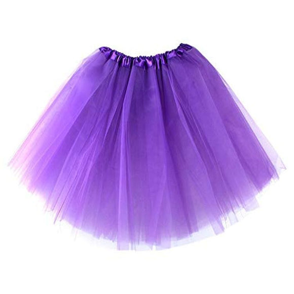 Kids Tutu Skirt (Purple)