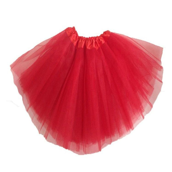 Kids Tutu Skirt (Red)