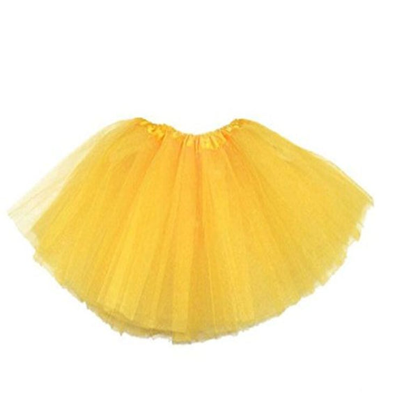 Kids Tutu Skirt (Yellow)
