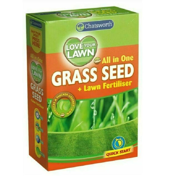 Chatsworth Love Your Lawn All In One Grass Seed