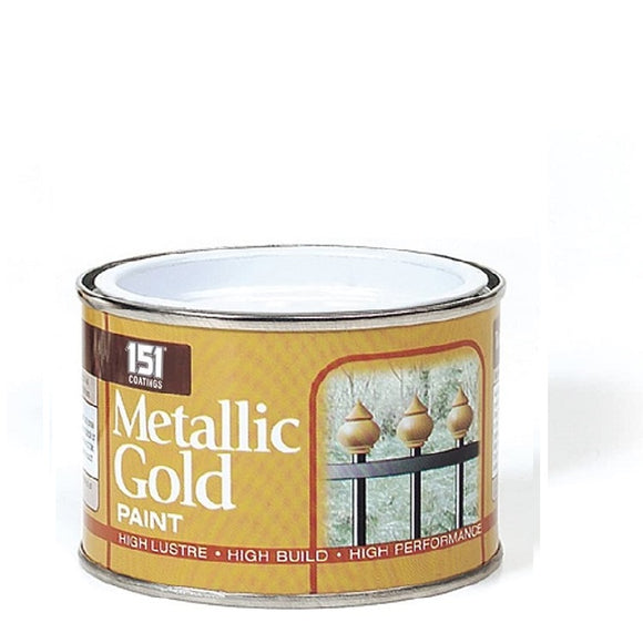 151 Metallic Gold Paint 180ml