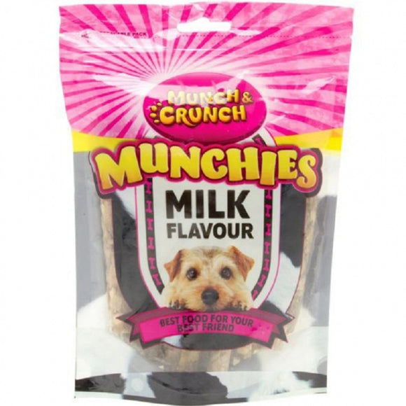 Munch Crunch Milk Flavoured Munchies - 250g