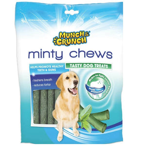 Munch & Crunch Minty Flavour Dog Chews - 250g