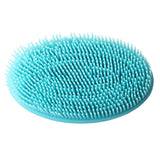 SuperGift's Multi Purpose Rubber Sponge with Bristles (Blue)