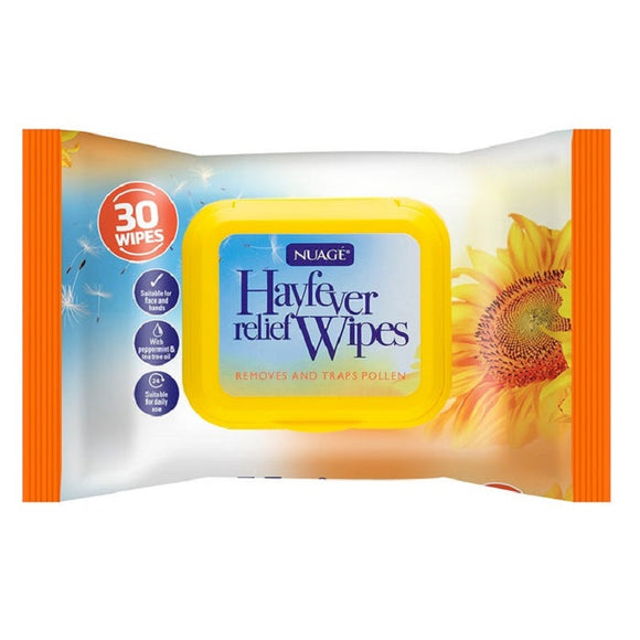NUAGE Hayfever Relief Wipes