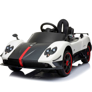Pagani Zonda Ride On Kids Car (White)