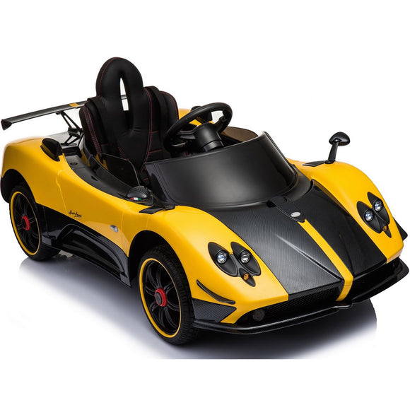 Pagani Zonda Ride On Kids Car (Yellow)