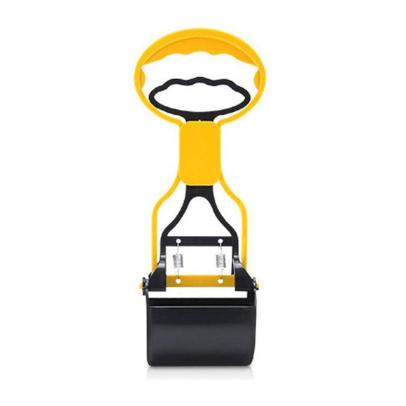 Dog Poop Scooper (Small) (Yellow)