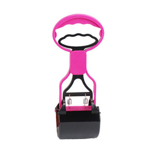 Dog Poop Scooper (Small) (Pink)