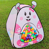 Play Tent with 50 Air Balls (Pink)
