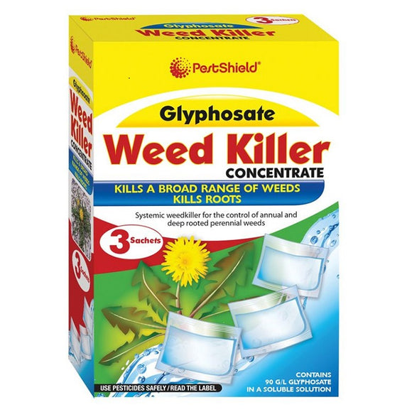 Pest Shield Glyphosate Weed Killer 3PK