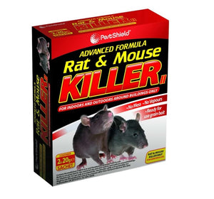 Pest Shield Rat & Mouse Killer (2x20g)