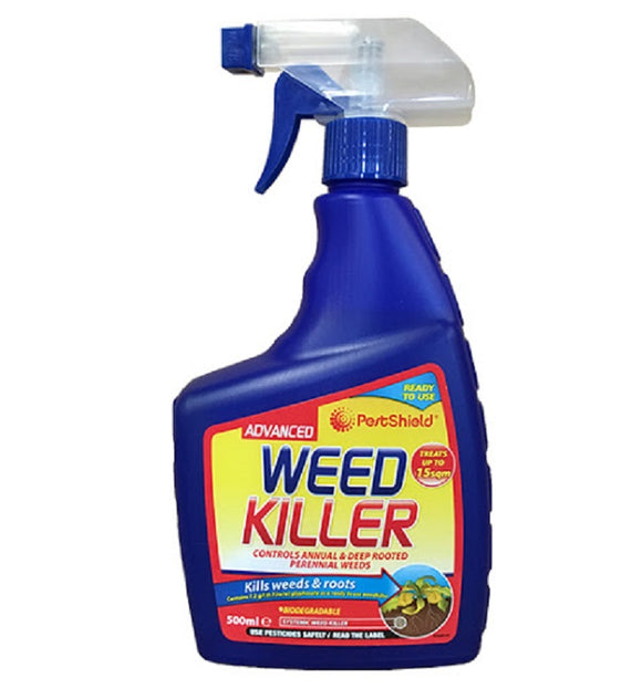 Pest Shield Blue Advanced Weed Killer 500ml