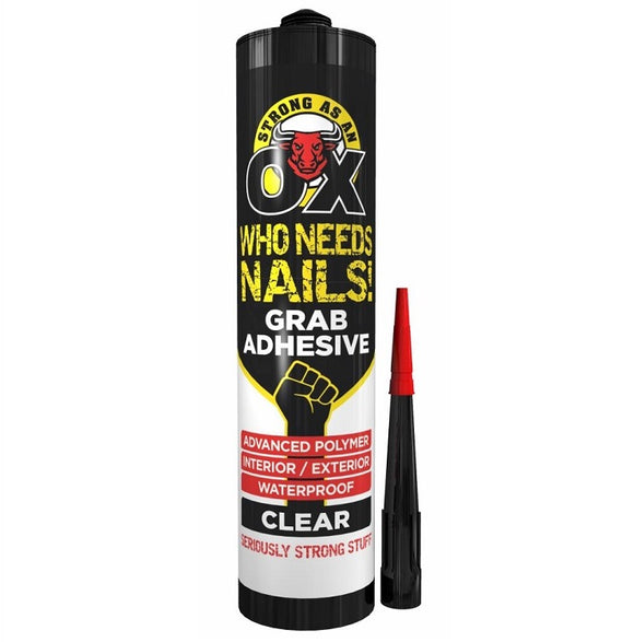 OX Grab Adhesive WHITE