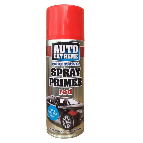 Auto Extreme Red Primer Spray Paint - 400ml