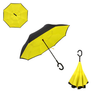 Double Layer Reverse Umbrella (Yellow)