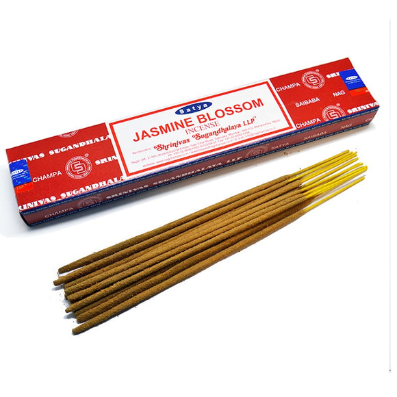 Satya Sai Baba Incense Sticks - Jasmine Blossom