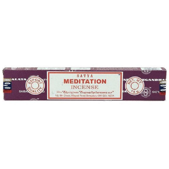 Satya Sai Baba Incense Sticks - Meditation