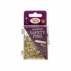 Sewing Box Safety Pins  180 pack