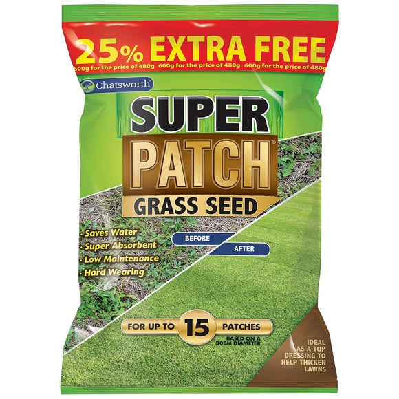 Chatsworth Super Patch Grass Seed 600g