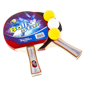 Table Tennis Rackets and Balls Set