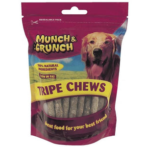 Munch Crunch Tripe Chews (200g)
