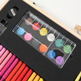 180pc Wooden Colourful Art Set
