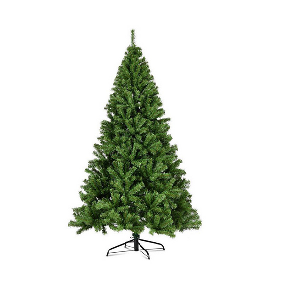 Artificial Bushy Green Christmas Tree - 7FT