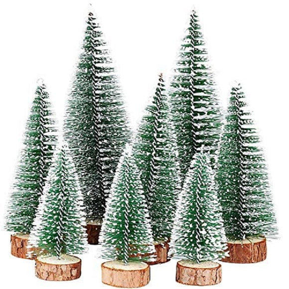 7PC Mini Ornament Christmas Tree