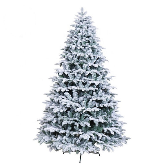 Snow Effect Christmas Tree - 7FT